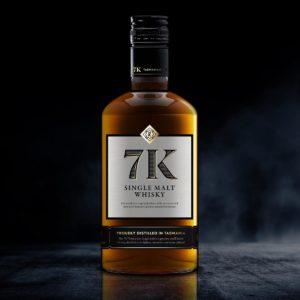 7K Distillery - Single Malt Whisky - Bourbon cask 7KD023 - 500ml